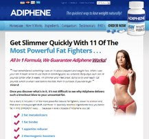 Adiphene website Australia