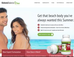 Ketone Balance Duo Website