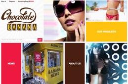 Chocolate Banana website