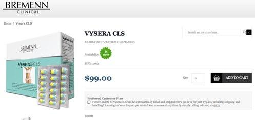 Order Vysera CLS