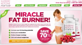 Raspberry Ketone force official website