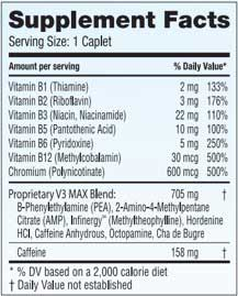 Ingredients in Voyager V3 Max
