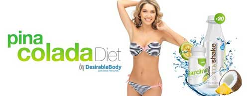Pina Colad Diet Plan from Desireable Body