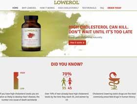 Lowerol Website