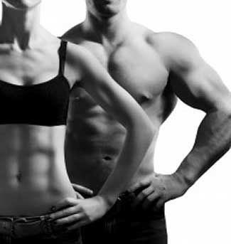 fit man and fit woman