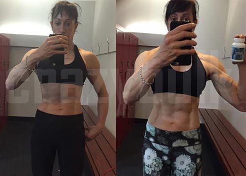 CrazyBulk Before and After Women