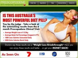 Prescopodene Australian website
