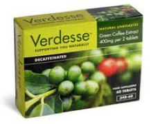 Verdess Green Coffee tablets £14 diet pill