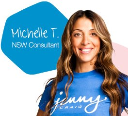 Jenny Craig weight loss consultant New South Wales Australia