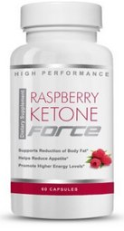 Raspberry Ketone Force product bottle