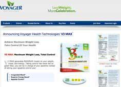Voyager V3 Max website
