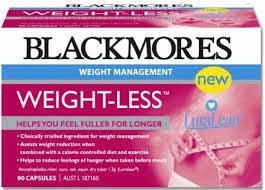 Weight-Less appetite suppressant from Blackmores