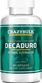 Crazy Bulk states their DecaDuro formulation can provide the same benefits as Deca-Durabolin
