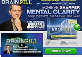 Brain Pill website